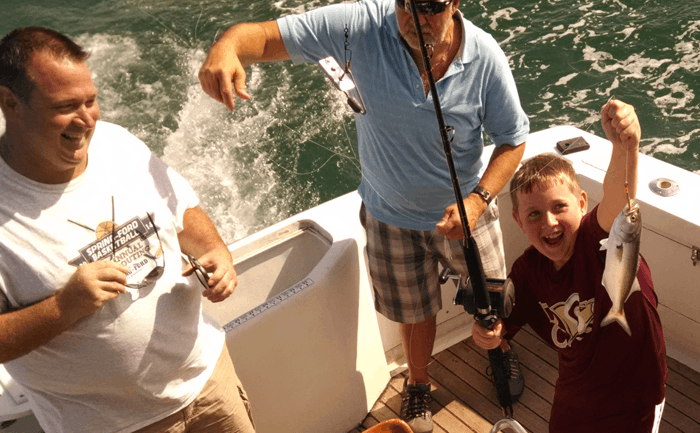 Afforbable Outer Banks charter fishing for the entire family.